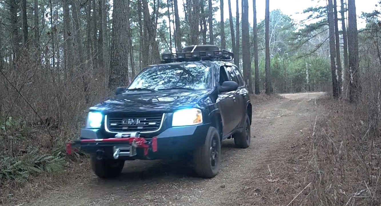 Utilizing APRS off-road